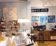 Abstract paintings for the home. Show at @WestElm Seattle in November — Jenny Vorwaller