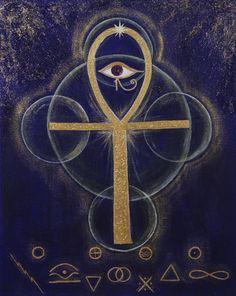 Key of Life ☮ All Seeing EYE ~ psychedelic, hippie art, revolution OBEY style, Masonic, street graffiti, illustration and design. ☮