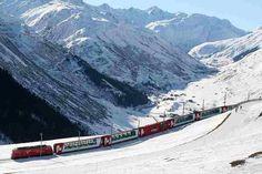 19. #prendre l'Express de Glacier en #Suisse - 31 choses à #faire en Europe #avant de mourir... → #Travel