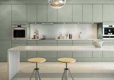 A la Carte -keittiöt Neve Scandinavian Kitchen, Kitchen Space, Scandinavian Kitchen Design, Contemporary Kitchen Cabinets, Contemporary Kitchen, New Kitchen, Modern Kitchen Cabinet Design, Kitchen Cabinet Colors, Kitchen Design