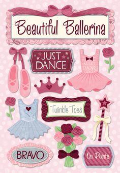 Karen Foster Design - Cardstock Stickers - Just Dance at Scrapbook.com