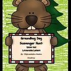 Groundhog Day Alphabet Scavenger Hunt: Upper and Lowercase Letters  On sale for $1.00!