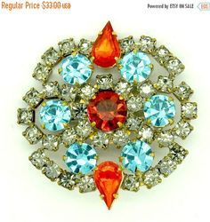 A Brooch for Every Occasion - Vintage Jewelry from Vjt by moonbeam0923 on Etsy