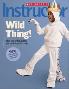 Instructor's Winter 2013 Cover! Wonderful resources from Scholastic for educators for the month of February