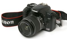 Entry level photography: Canon EOS 450D DSLR. Existing lenses: (a) standard lens 18-55mm f/3.5-5.6 IS; (b) zoom lens 55-250mm IS; (c) portrait lens 50mm
