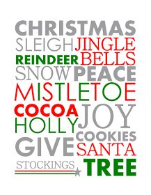 Craftivity Designs: Day 23: Christmas Printables