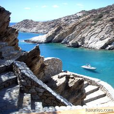 Choose the best accommodation, beaches, bars, restaurants and activities in Ios Island for you. Plan your luxury dream holidays through LuxurIOS Luxury Accommodation, Small Island, Greek Islands, Crete, Places To See, Beaches, Ios, Adventure, Water