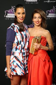 Tal and Shy'm Music Awards, Photos, Stars, People, Black, Fashion, Singers, Moda, Pictures