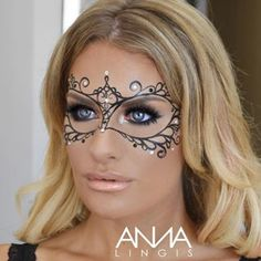 masquerade makeup under mask - Google Search