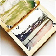 Turn An Old Book Into A Photo Album