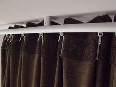 Lill Net Curtains 1 Pair White Curtain Rails Curtains