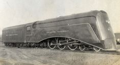 Commodore Vanderbilt, the first streamline shrouded locomotive.
