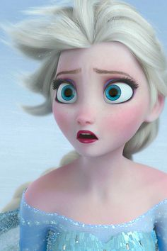 I will always repin Frozen face close-ups. This film is such a beautiful work of art.