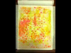 Gel Prints on Deli Paper