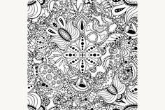 decorative seamless pattern Graphics Paisley seamless pattern. Floral background1 - Files Vector (.eps)1 - Files JPEG 4000x4000 px. by Vector&VideoArtShop