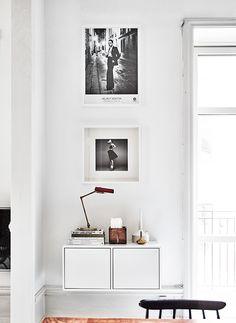 Helmut Newton print- vintage treasure - beautiful home in Stockholm