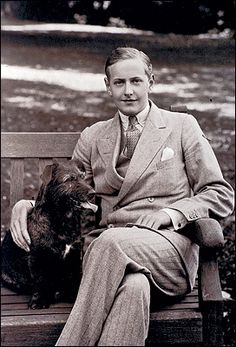 Hugh Lygon  sebastion s character from Brideshead Revisited was said to be based on him