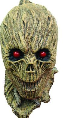 Shrunken Scarecrow Mask Latex #Halloween