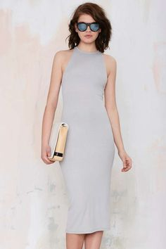 After Party Vintage Antina Ribbed Dress - Body-Con | After Party | Going Out | Day | Dresses