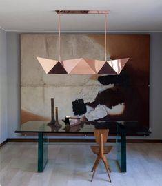 """""""Deriva"""" in Copper, Alessandro Mendini for Fragile Edizioni, 2015"""