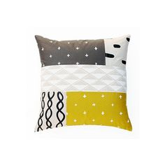 Patterned Patchwork Pillow 1 by One Kings Lane $165