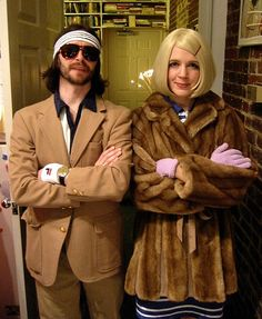 """Easy Last-Minute Costume Ideas For Adults.  Margot & Richie Tannenbaum """"The Royal Tannenbaums"""""""