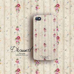 Floral iPhone 5 case iPhone 5s case iPhone 4 case by Decouart, $23.99