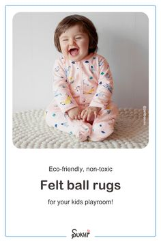 If you're looking for decor ideas for your kids playroom then one of our high quality, handmade & non-toxic rugs is a must! Adding luxury & comfort, your kids will love the feel of our durable, soft rugs & you'll love the look of it. Whether your design is boho, modern or farmhouse, our stylish rugs will work perfectly! With many different colours & patterns to choose from, you'll find something you adore for your boy, girl or gender neutral playroom. Customizable sizes available & free shipping Kid Friendly Rugs, Soft Rugs, Felt Ball Rug, Nursery Neutral, Our Kids, Interior Design Inspiration, Gender Neutral, Rainbow Colors, Color Patterns