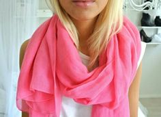 #pink scarf:)