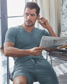 2,734 vind-ik-leuks, 92 reacties - M&S (@marksandspencer) op Instagram: 'Slip into something a little more comfortable with the new @davidgandy_official loungewear…'
