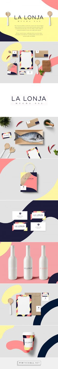 LA LONJA mucha sal Food Market Branding by Sara Enriquez | Fivestar Branding Agency – Design and Branding Agency & Curated Inspiration Gallery #Diseño #Design #creative #Inspiration #layout #web #composición #Diseño  #brand #branding #website #online #WebDesign