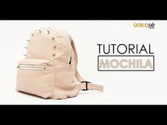 Mochila Tutorial, Pouch Tutorial, Diy Tutorial, Mini Mochila, Backpack Pattern, Cute Backpacks, Bag Patterns To Sew, Bead Crochet, Needle And Thread