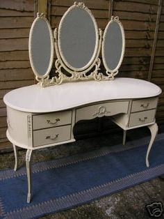 I got my first vanity a few yrs ago and could never be without one again. This one is gorgeous!