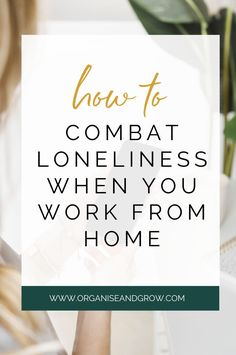 Being your own boss is amazing BUT there are some downsides to it like working alone. If you're struggling with working alone, check out my ultimate guide to combating loneliness when you work from home. #WorkFromHome #MentalHealth #BusinessTips #SolopreneurTips Online Work From Home, Work From Home Moms, Business Advice, Online Business, How To Combat Loneliness, How To Get Away, How To Become, Win Win Situation, Priorities List
