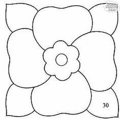 A Gaivota Artesanato: Riscos Flores e Frutas patchwork embutido isopor Pintura em Tecido