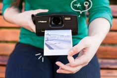 The first lime: I want this!!!  the first instant digital camera