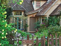 The Fairytale Cottages of Carmel. The Hansel House Bobbie and Mike Boroz not sure the last name.