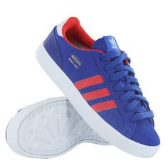 This is most probably one of the cheapest pairs of brand new Adidas Basket Profi Low K you will find anywhere online right now. And in a nice blue and red colour way too. These trainers are, by mos…