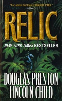 """If you enjoyed """"Jurassic Park"""" then you may also like """"Relic"""" (Special Agent Pendergast Series #1) - First time reading one of their books - and it was quite the exciting read! A little slow at the beginning, but it's a quite the hunt to find the killer beast in the museum!"""