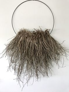 raw and natural, wild and free Textile Fiber Art, Textile Artists, Land Art, Survivor Necklace, Contemporary Baskets, Organic Art, Indigenous Art, Wire Crafts, Nature Decor