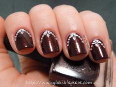 piCture pOlish Voodoo swatched by Wacky Lacki!  We love the special touch!