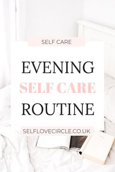 Self Care Evening Routine - Self Love Circle. Build a health, evening routine filled with self care activities to promote mental wellness and happiness. Evening Routine, Night Routine, Look After Yourself, Improve Yourself, Self Care Activities, Self Development, Personal Development, Self Care Routine, Best Self