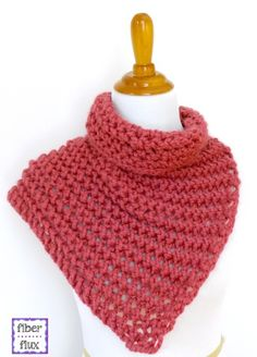 The Raspberry Sorbet Button Cowl is the scarf knitting pattern you won't want to put down once you've cast on. Now, you can indulge in something sweet without the guilt. Knit with super bulky weight yarn on large knitting needles, thick and quick is the easiest way to describe this absolutely gorgeous knitted cowl.