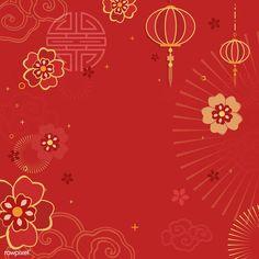 Chinese new year 2019 greeting background   free image by rawpixel.com / Kappy Kappy Chinese New Year Flower, Chinese New Year Party, Chinese New Year Poster, Chinese New Year Design, Chinese New Year Decorations, Chinese New Year Greeting, New Years Poster, Happy Chinese New Year, New Year Card Design