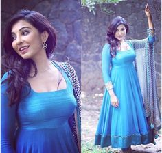 Actress Parvathy Nair Stills - Cine Punch Designer Party Wear Dresses, Designer Anarkali Dresses, Kurti Designs Party Wear, Indian Designer Outfits, Indian Outfits, Stylish Dresses, Simple Dresses, Fashion Dresses, Kurta Designs Women