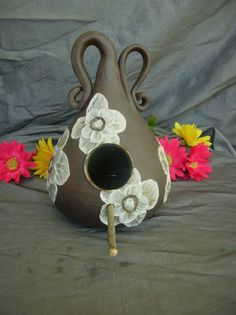 Clay Pottery Bird Houses - Bing Images