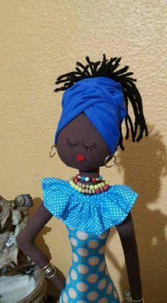 Diy Toys Doll, Doll Crafts, African American Dolls, African Dolls, Newspaper Crafts, Cat Doll, Doll Tutorial, Doll Patterns, Crochet Dolls