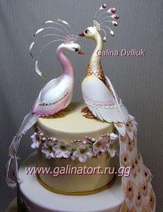 Indian wedding cakes are so pretty! Fancy Wedding Cakes, Amazing Wedding Cakes, Fancy Cakes, Amazing Cakes, Peacock Cake, Peacock Wedding Cake, Peacock Foods, Unique Cakes, Elegant Cakes