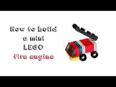 How to build a mini LEGO fire engine
