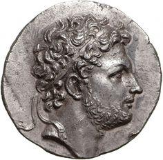 Tetradracma - argento - Pella, Macedonia (179-168 a.C.) Perseo con diadema, di profilo vs.dx - Münzkabinett Berlin